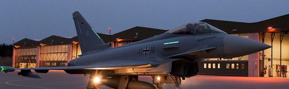 Datenflut aus dem Eurofighter
