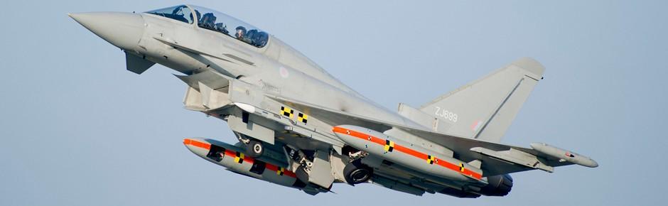 Eurofighter-Premiere mit Meteor