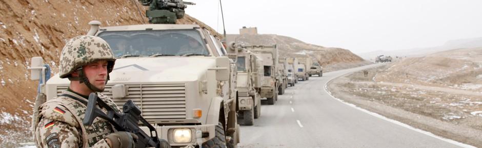 Scheitelpunkt in Afghanistan ist überschritten