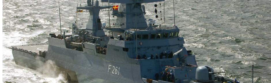 Ein maritimer Härtetest für Schiff und Besatzung