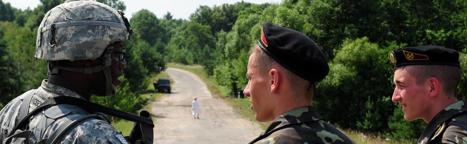 US-Militär sucht neuen Termin für Übung in der Ukraine