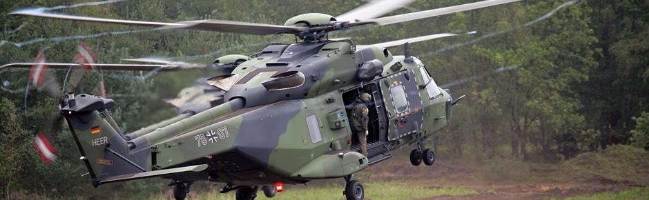 200. Militärhubschrauber NH90 feierlich übergeben