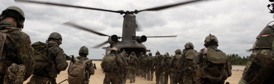 """Hubschrauberübung """"Hot Blade"""" – gerüstet für die Krise"""