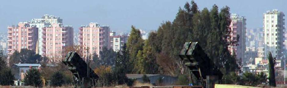 Spanien ab Januar 2015 mit Patriot-Systemen in der Türkei