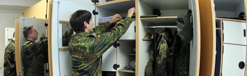 Mehr als die Hälfte aller Soldatenstuben desolat?