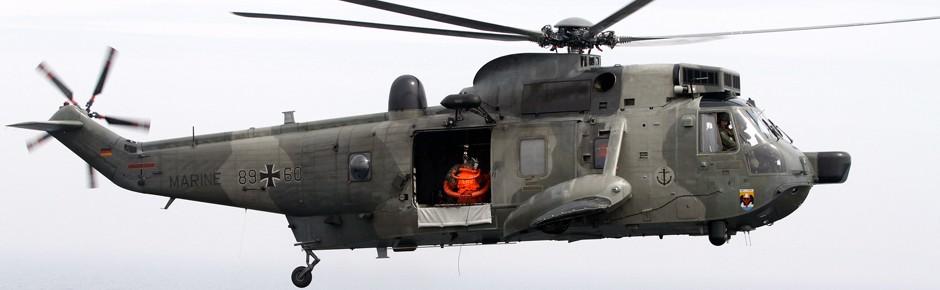 """Marinehubschrauber – Einsatzbereitschaft """"desaströs""""?"""