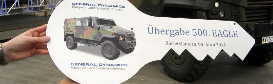500. Eagle feierlich an die Bundeswehr übergeben
