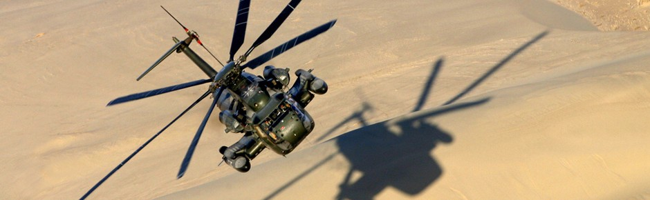 Veraltete CH-53 bereiten der Luftwaffe große Sorgen