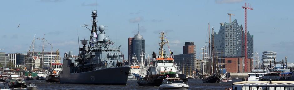 Hamburger Hafen feierte Geburtstag mit einer Million Gäste