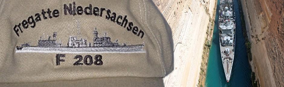 """Wehmütiger Abschied von der Fregatte """"Niedersachsen"""""""