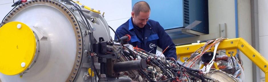 A400M-Triebwerk bei MTU in guten Händen