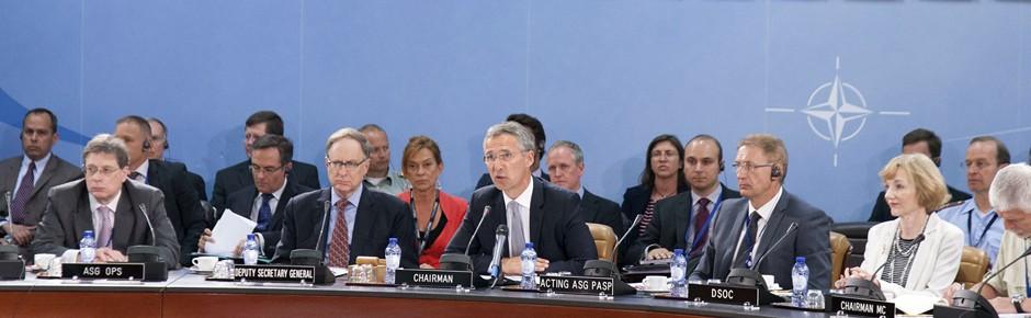 """NATO steht Türkei """"in starker Solidarität"""" bei (1. Teil)"""