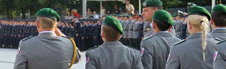 Bald 5000 Berufssoldaten mehr in der Bundeswehr