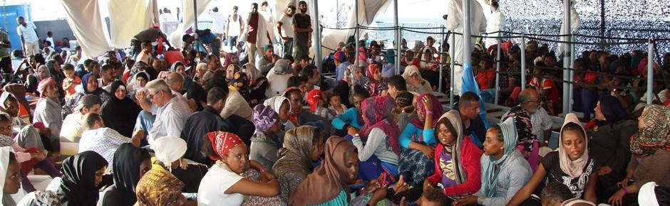 """EU-Mission im Mittelmeer: """"Die Rettung geht weiter!"""""""