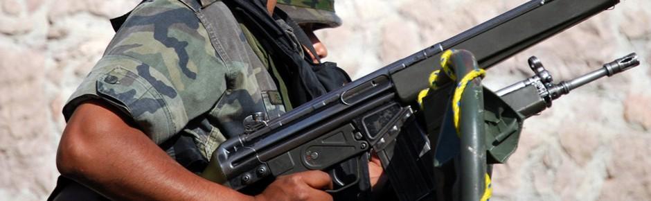 Deutsche Sturmgewehre G36 für Mexiko