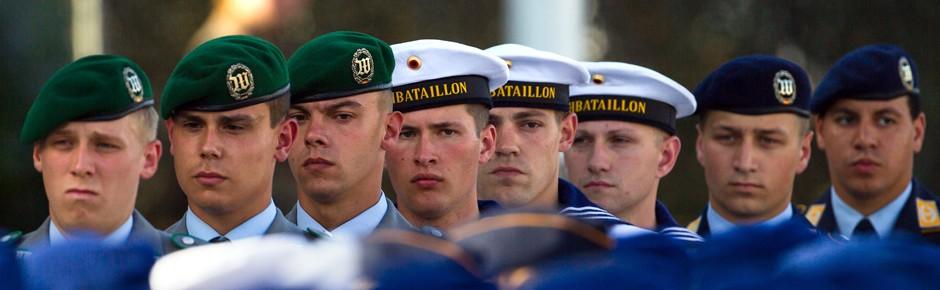 Erfahrungsstufen: rascherer Aufstieg für junge Soldaten