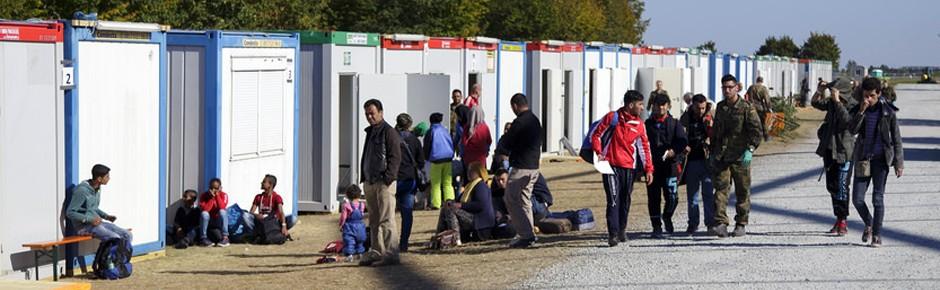 Mehr als 6000 Bundeswehrsoldaten für die Flüchtlingshilfe