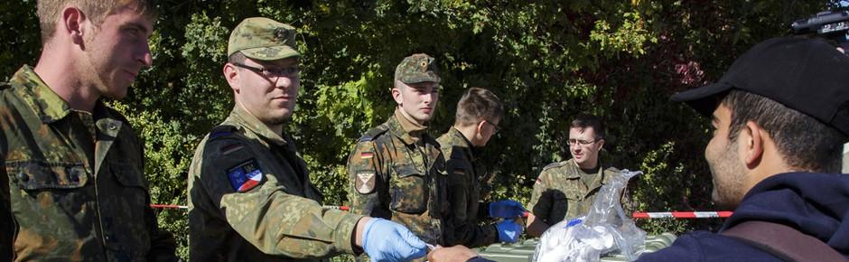 Flüchtlingshilfe: SPD will mehr Bundeswehrpersonal