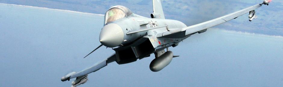 Viel Arbeit für die Eurofighter-Alarmrotten