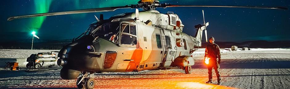 """""""Cold Blade"""": Helikoptertraining in arktischen Regionen"""