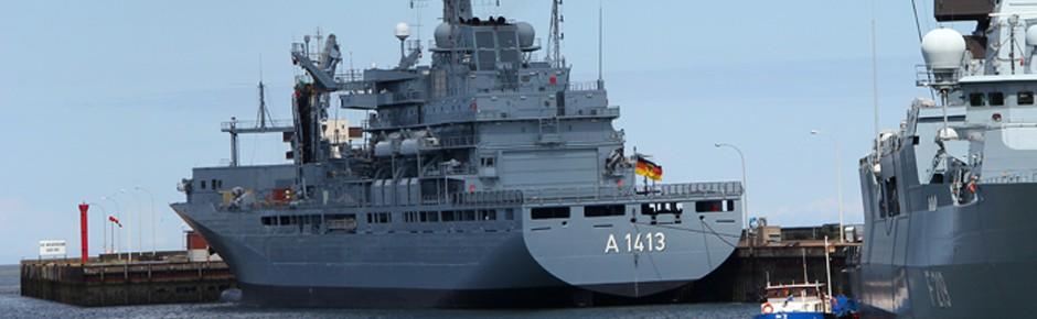 """Einsatzgruppenversorger """"Bonn"""" führt NATO-Verband"""