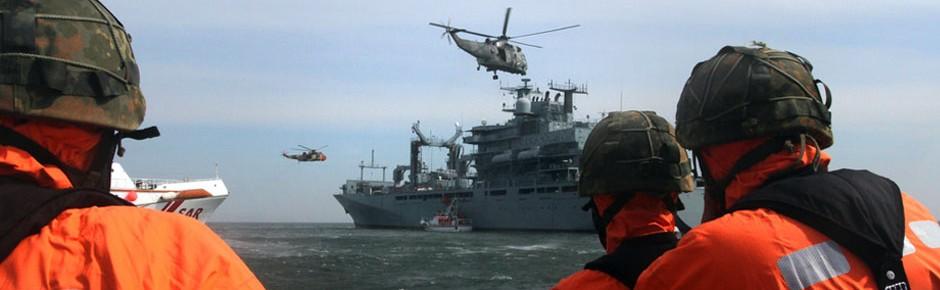 """""""Dynamic Mercy 2016"""": SAR-Übung der NATO vor Helgoland"""