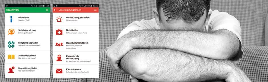 App weist Wege bei posttraumatischer Belastungsstörung