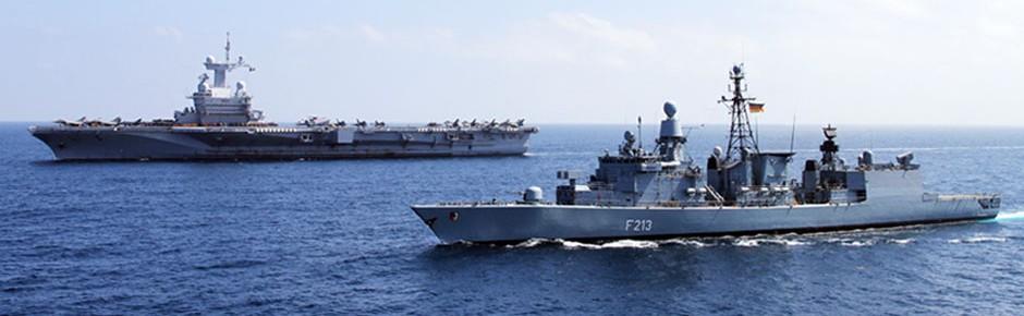 """Fregatte """"Augsburg"""" in erneuter Mission gegen den IS-Terror"""