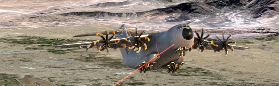 Erster Airbus A400M mit Selbstschutz für die Luftwaffe