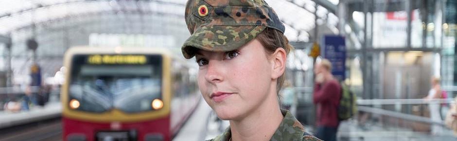 Frauenanteil in der Bundeswehr jetzt über elf Prozent