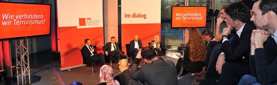 SPD-Podiumsdiskussion mit namhaften Terrorismusexperten