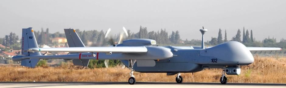 Bundeswehr-Drohnen Heron TP werden in Israel stationiert