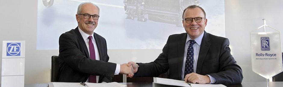Rolls-Royce und ZF streben gemeinsam Zukunftsziele an