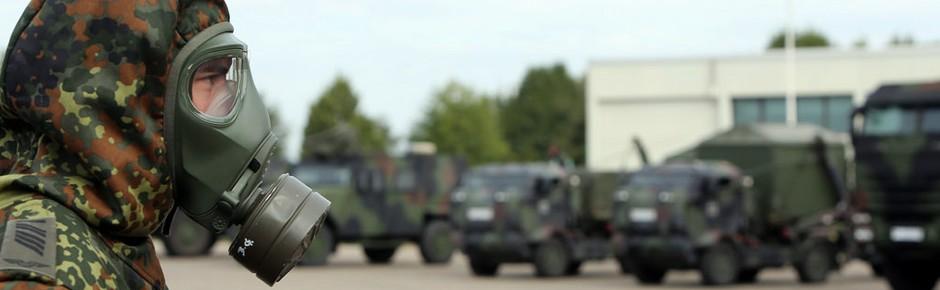 Deutsche und Niederländer: Schulterschluss bei ABC-Abwehr
