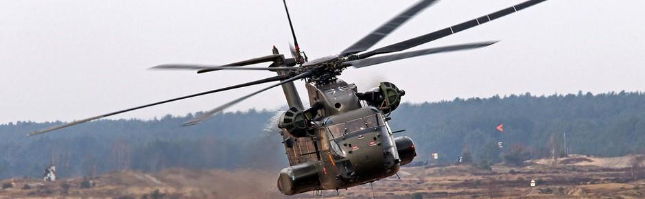 26 Helikopter CH-53 der Bundeswehr werden modernisiert
