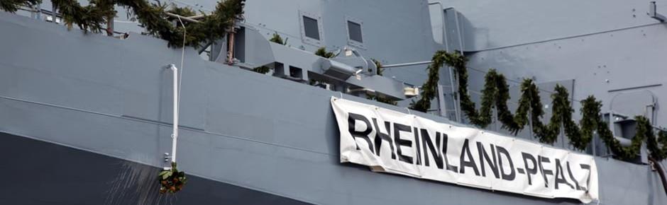 """Fregatte """"Rheinland-Pfalz"""": Schiffsname mit Tradition"""