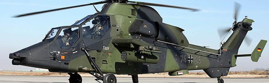 Heer hat nicht genug Tiger-Piloten für die Auslandseinsätze