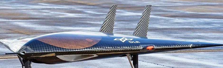 Drohnenmodell Sagitta: erfolgreicher Erstflug in Südafrika