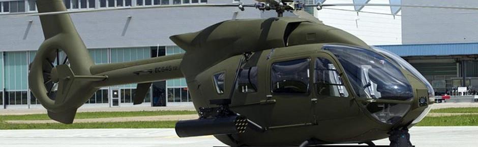 Bundeswehrhubschrauber H145M kappt Überlandleitung