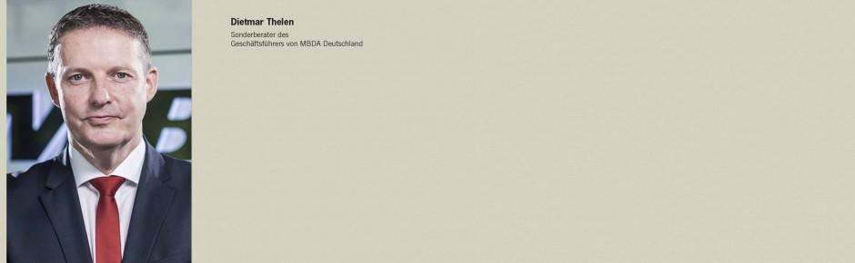 Sonderberater unterstützt MBDA Deutschland bei MEADS