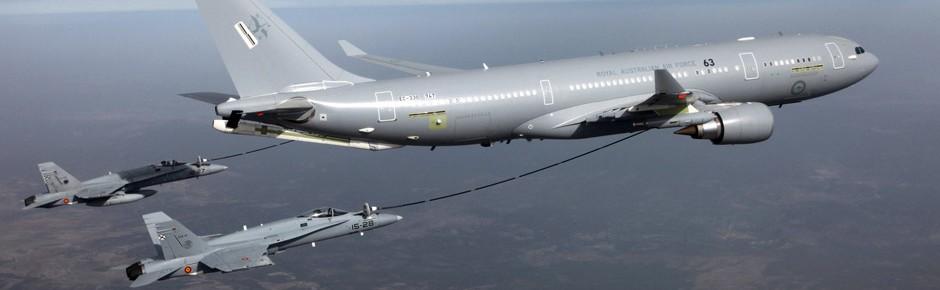 Sieben Tankflugzeuge Airbus A330 MRTT für die NATO