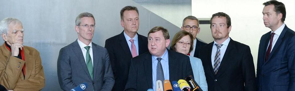 Öffentliche Anhörung mit den Chefs der Nachrichtendienste
