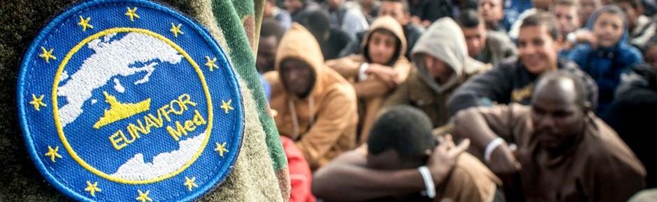 Tausende im Mittelmeer aus Seenot gerettet