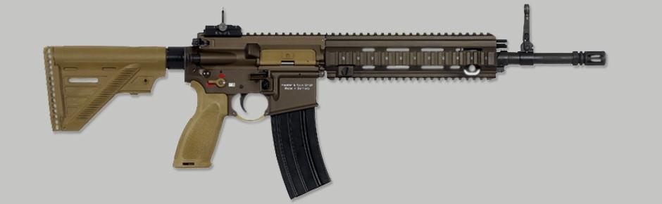 HK416 A7 ist neues Sturmgewehr der Spezialkräfte