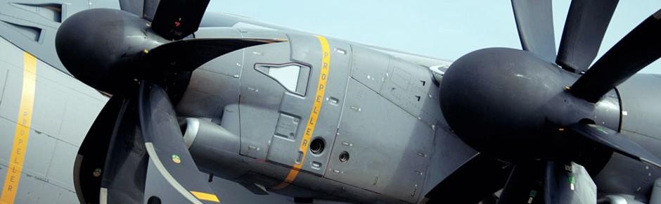 MTU Aero Engines betreut Triebwerke der deutschen A400M