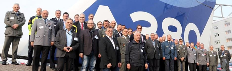 Trinationaler Workshop zivil-militärische Zusammenarbeit