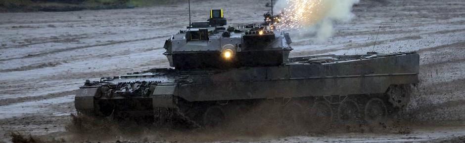 Neue Vollkaliber-Übungsmunition DM98 für den Leopard 2