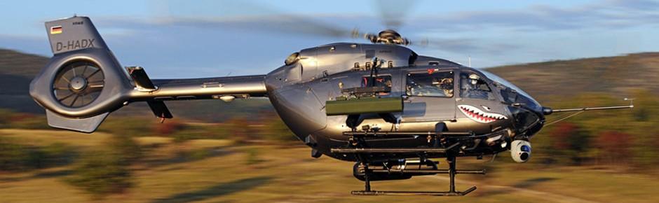 HForce-Waffensystem für Hubschrauber H145M im Test