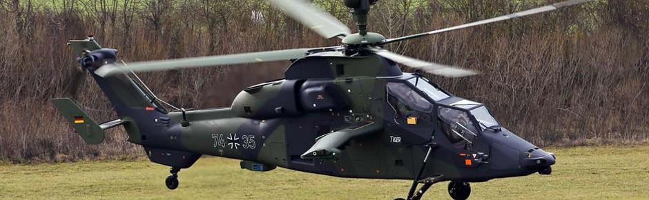 10.000 Übungsraketen für die Tiger-Kampfhubschrauber