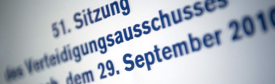 SPD-Politiker Hellmich leitet erneut Verteidigungsausschuss